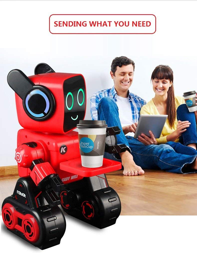 Hi-Tech Wireless Interactive Robot RC Robot Toy for Boys, Girls, Kids, Children (Red) by HI-TECH OPTOELETRONICS CO., LTD. (Image #5)
