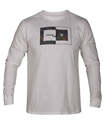 3dbf85bd812e Amazon.com: Hurley Men's Long Sleeve Graphic Tshirt: Clothing