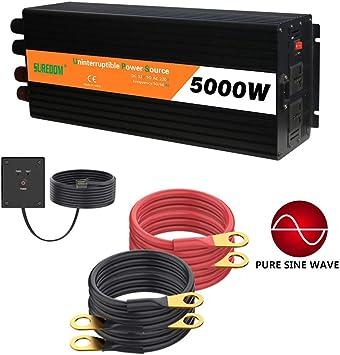 2000W-10000W Car Power Inverter Modified Sine Wave WATT 12V to AC 110V-Converter