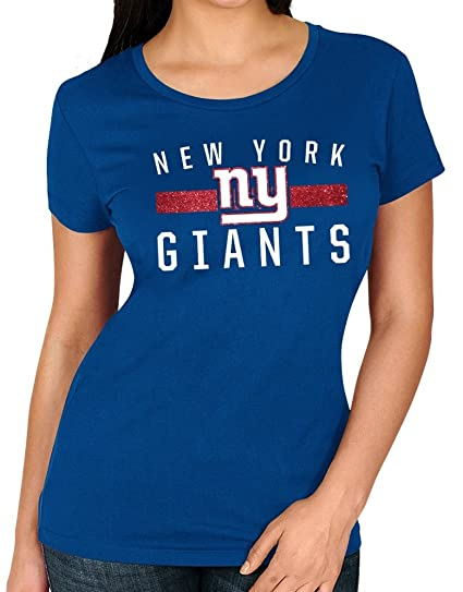 Image Unavailable. Image not available for. Color  New York Giants Women s  Majestic NFL  quot Franchise Fit 3 quot  Short Sleeve T- 549b380e0