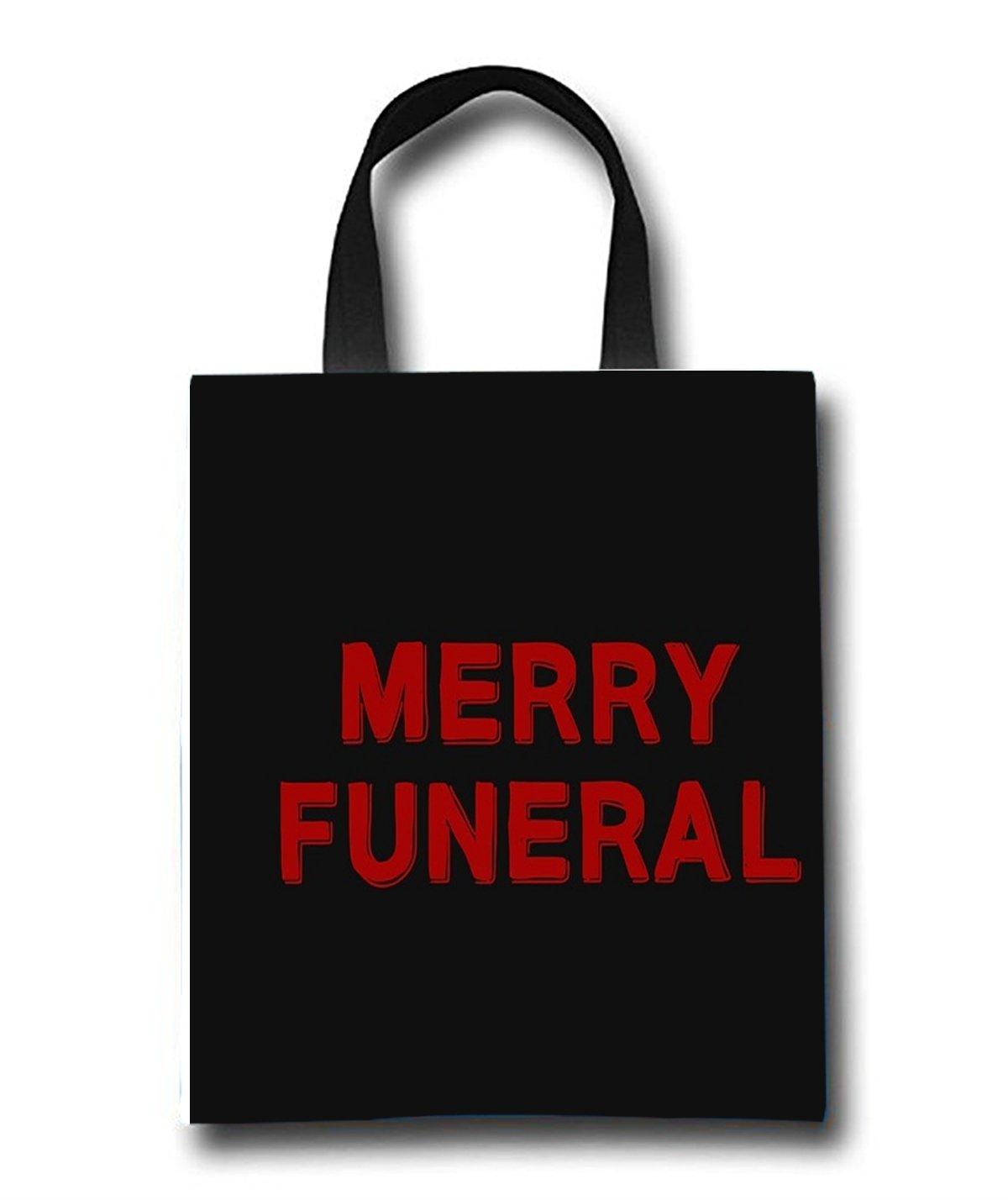 b89b624adea5 Amazon.com : Merry Funeral Reusable Shopping Bag Travel Shoulder ...