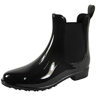 hot products order online shop Loud Look Rain Boots | Rain Boots Ladies | Wellies Ankle Boots | Chelsea  Boots Women Ankle Boots for Women | Flat Chelsea Boots | Ankle Wellington  ...