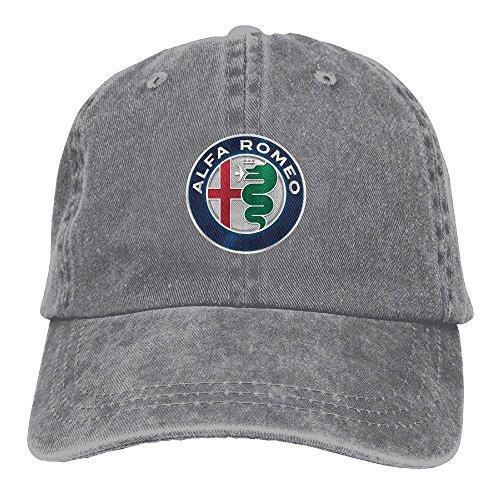 Alfa Romeo Unisex Baseball Cap Trucker Hat Adult Cowboy Hat Hip Hop Snapback by CharmingHouse
