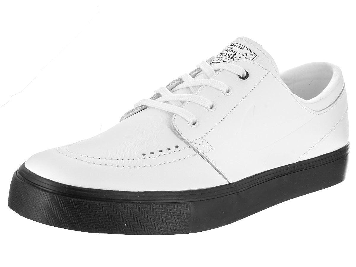 777271c4f7a2 Nike Unisex SB Zoom Janoski Prem CPSL Skate Shoe White White White Black  10.5 B(M) US Women   9 D(M) US Men  Buy Online at Low Prices in India -  Amazon.in