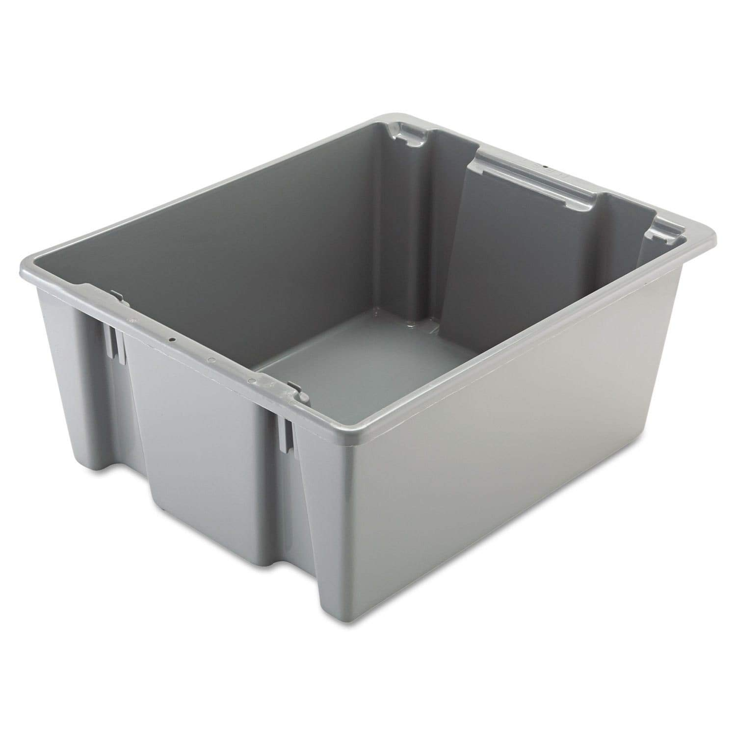 Rubbermaid Commercial Palletote Storage Box, 2 Cu. Ft, Gray, FG173100GRAY