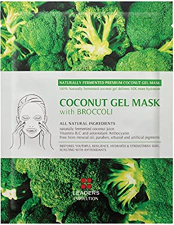 Image result for Coconut Gel Mask With Broccoli