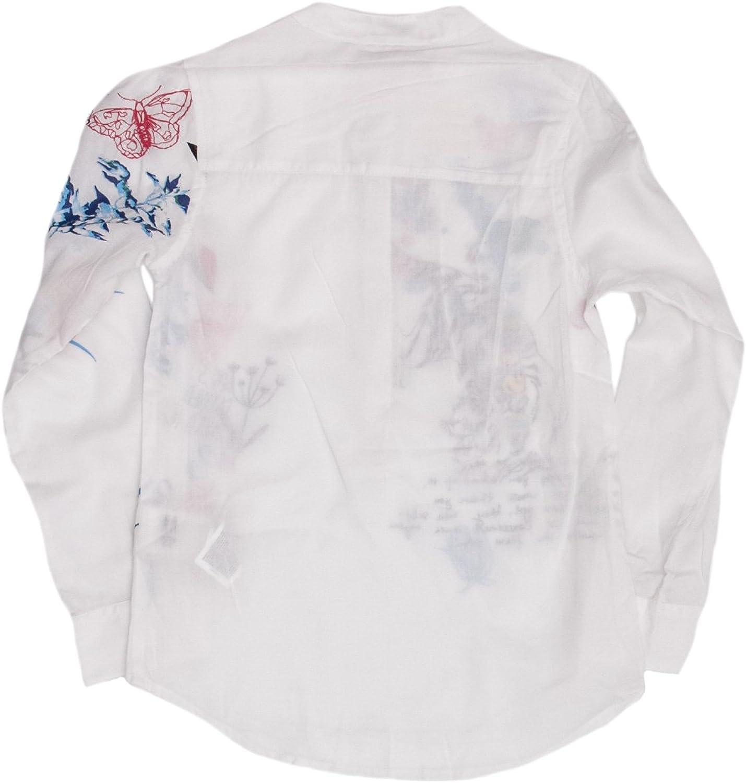 Desigual Camicia Manica Lunga Bambina Cam YORSHIRE 18WGCW13
