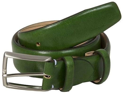 40 Colori Grüne Venezia Florentiner Leder Gürtel  Amazon.de  Bekleidung cb5f6c6a81