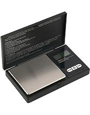 Hoosiwee Digitale Taschenwaagen, 100g 0,01g Feinwaage, Goldwaage, Elektronische Waage, Mit LCD Bildschirm, Edelstahl-Plattform, Tara-Funktion, für Kochen, Kaffee, Droge, Schmuck