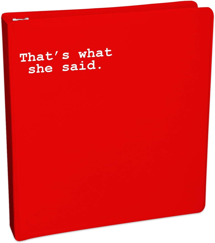 Thats What She Said One Color Die Cut Decal Sticker Car Mug Office Michael Scott