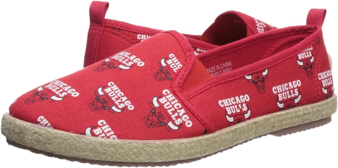 Womens Medium Chicago Bulls Espadrille Canvas Shoe