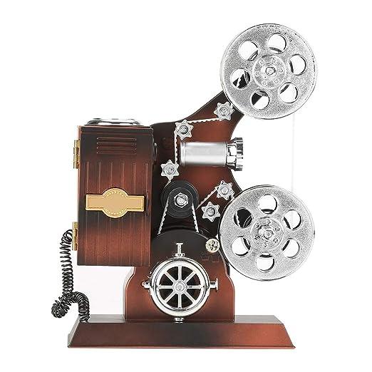 Caja de joyas, caja de música vintage, estilo de proyector ...