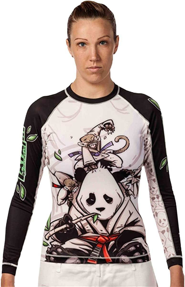 Tatami Fightwear Herren Sanfte Panda Rash Guard