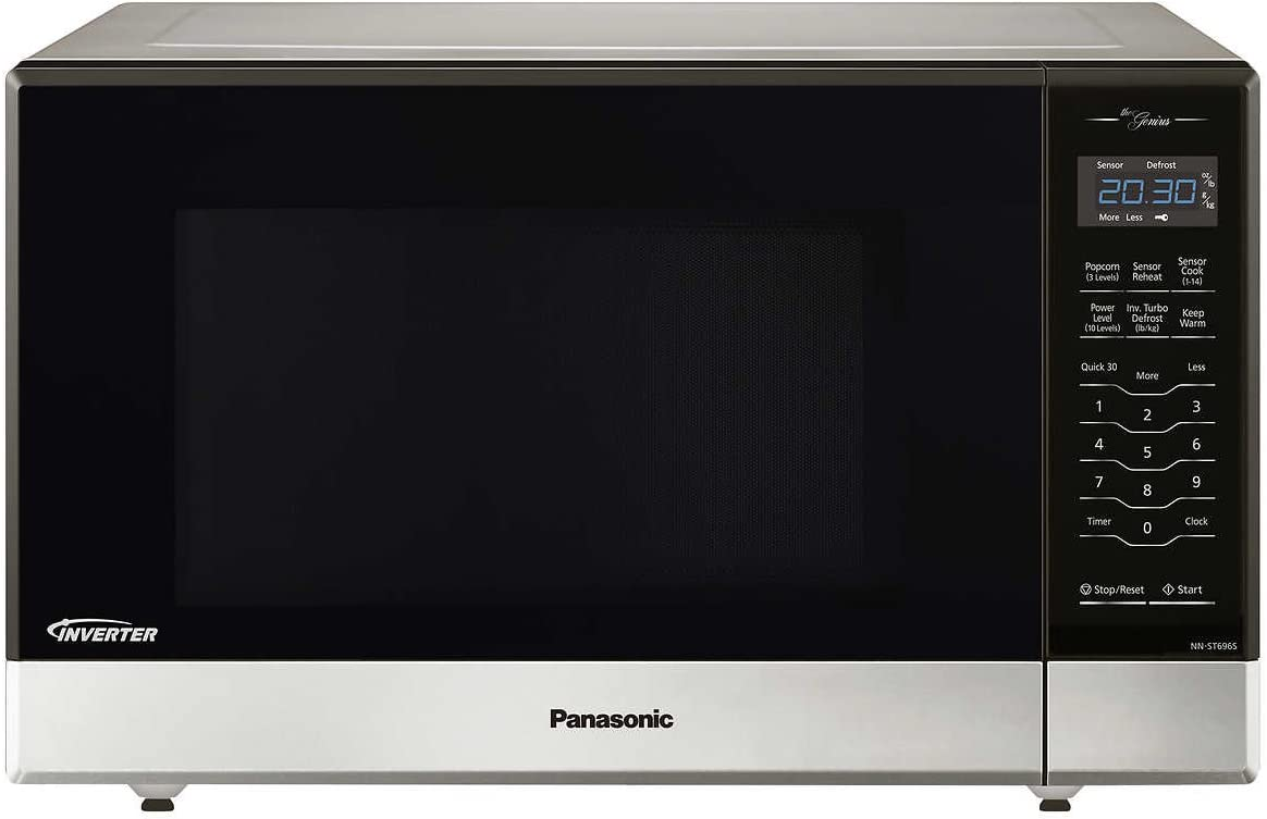 Panasonic NN-ST696S Countertop Built-In Microwave with Inverter Technology, 1.2 cu. ft. , Stainless Renewed