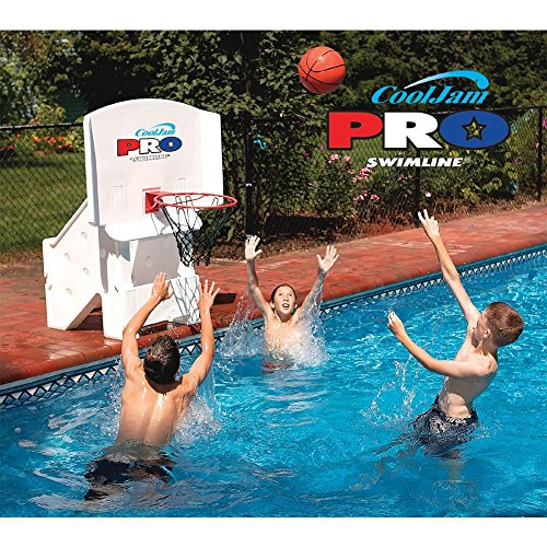 Cool Jam Pro Basketball - Cool Jam Pro Poolside Basketball in White