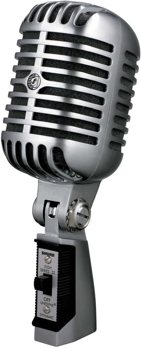 Shure 55SH Series II Iconic Unidyne Dynamic Vocal Microphone (the Elvis Microphone)