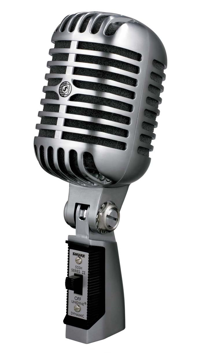 Shure 55SH Series II Dynamic Microphone (the Elvis Microphone) by Shure