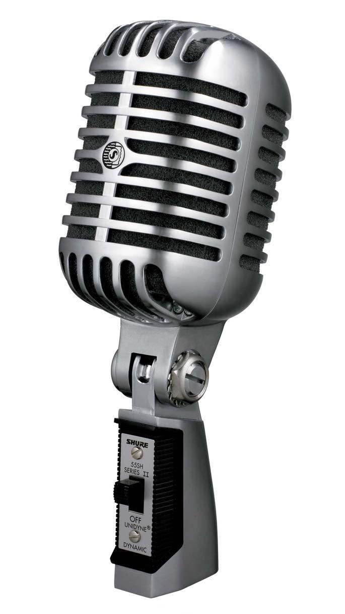 Shure 55SH Series II Dynamic Microphone (the Elvis Microphone) by Shure