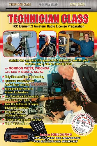Technician Class 2014-18 FCC Element 2 Radio License Preparation cover