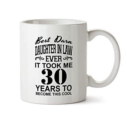 30th Daughter In Law Birthday Gift Mug