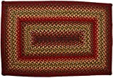 Cider Barn Rectangle Jute Braided Rug – 27″ x 45″