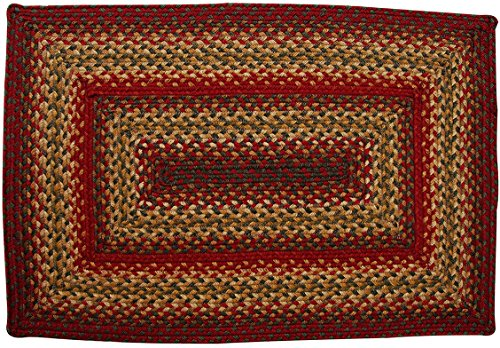 "Cider Barn Rectangle Jute Braided Rug - 27"" x 45"""