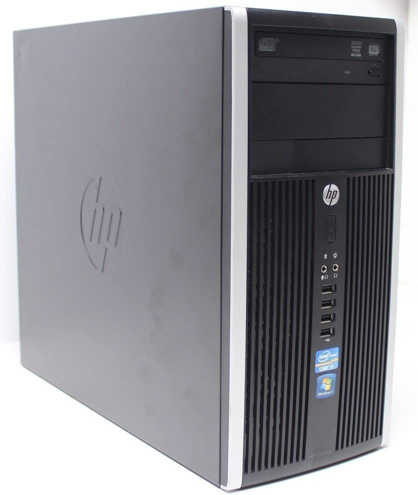 HP Compaq 6200 Pro MT PC - Intel Core i7-2600 3.4GHz, 16GB, 2.0 TB HDD, Windows 10 Professional (Renewed)