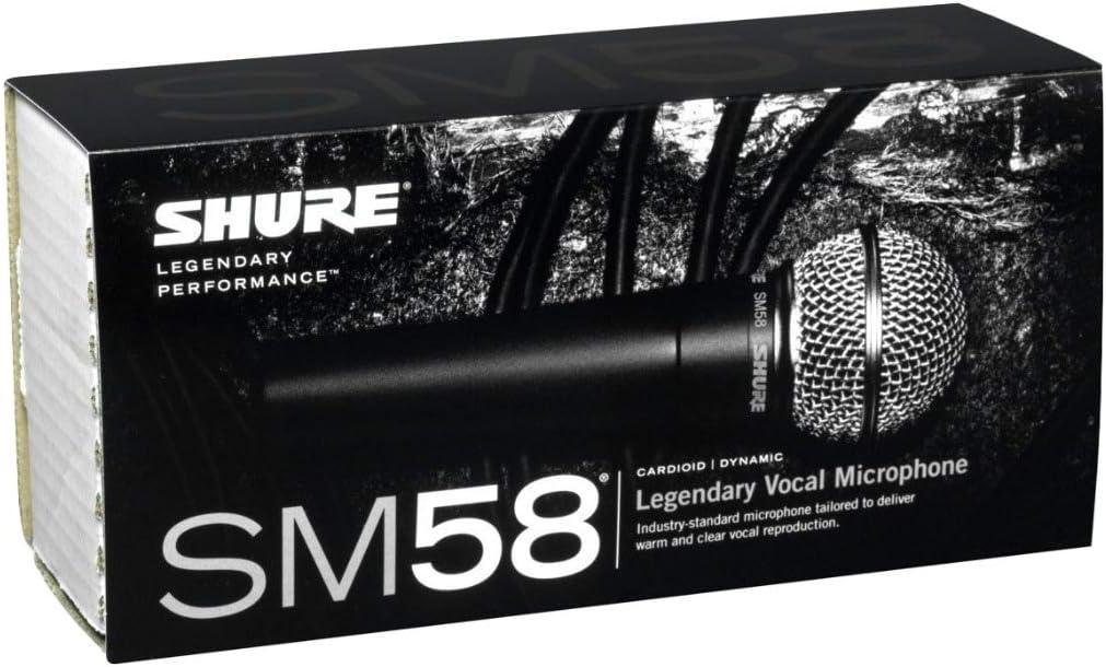 Sistema de radio con micr/ófono din/ámico SM58 Shure BLX24//SM58