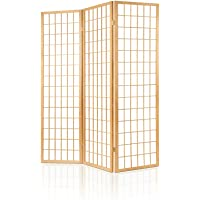 Artiss Foldable Wood Panel Room Divider