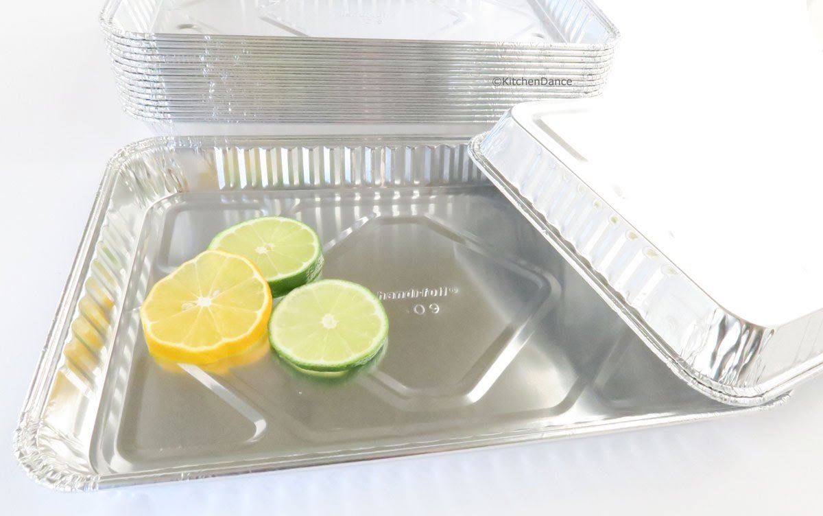 Handi-Foil Aluminum 1/4 Size Sheet Cake Pan, 100 units by Handi-Foil (Image #3)