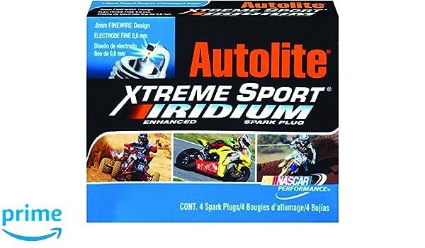 Amazon.com: nobrandname XS3922DP Autolite XS3922DP Xtreme Sport Iridium Powersports Spark Plug - Display Pack: Automotive