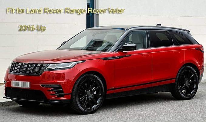 Black Colour Trim Carpet 4pc Floor Mats Set for Land Rover Range Rover Velar