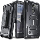 COVRWARE LG G Stylo 2 (2016) /LG G Stylo 2 Plus/LG Stylo 2 V - [Aegis Series] with Built-in [Screen Protector] Heavy Duty Full-Body Rugged Holster Armor Case [Belt Swivel Clip][Kickstand] - Black