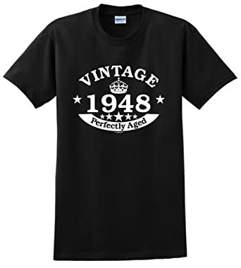 70th Birthday Gifts For Grandma Gift Vintage 1948 Perfect Aged Crown T Shirt