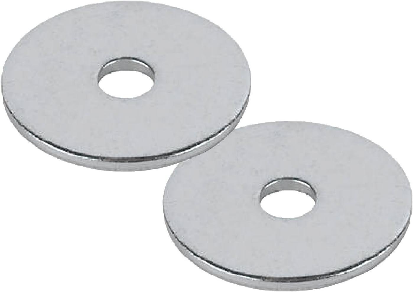 Home.smart 25 x Stahl Penny Repair Unterlegscheiben M10 x 38mm Bright Verzinkt f/ür Muttern Schrauben und Schrauben