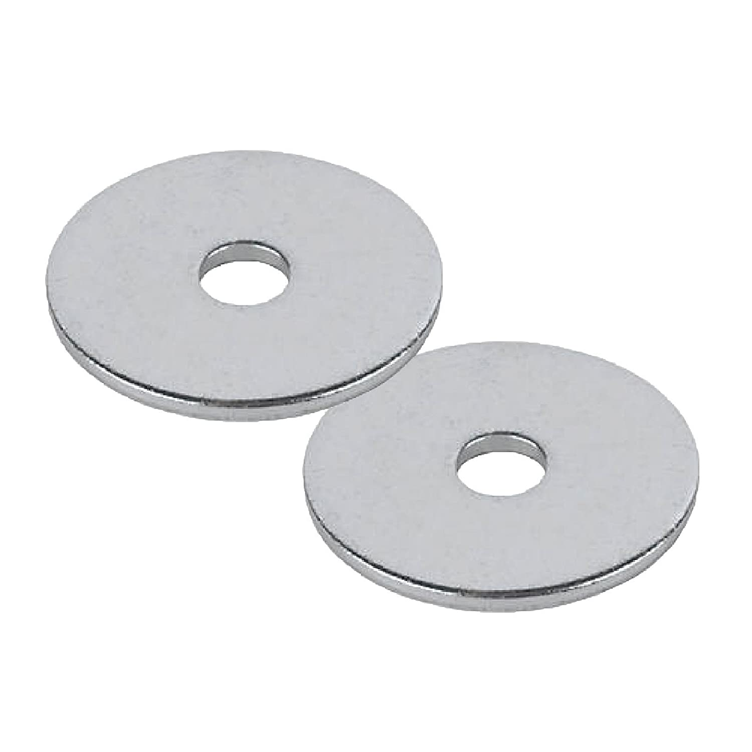 25 x Steel Backing Washers for 4.8mm Blind Pop Rivets M5 x 25mm Bright Zinc Plated Home.smart