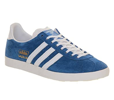 Adidas Gazelle Og Air Force Blue White  8 UK