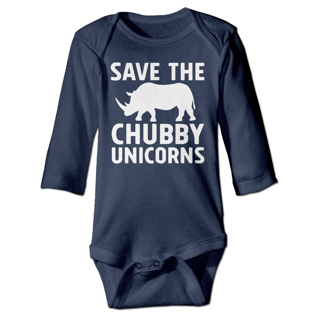Miss Boys Girls Save The Chubby Unicorns Funny Baby Onesies