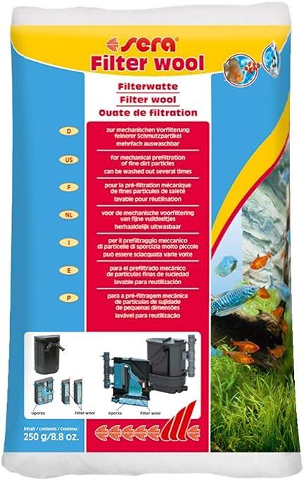 Sera Filter Wool Prefiltration 250g
