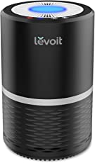 Levoit LV-H132 Air Purifier with True Hepa Filter, Odor Allergies Eliminator for Smokers, Smoke, Dust, Mold, Home and Pets, Air Cleaner with Night Light, US-120V