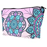 Yokata Make UP Bag Case for Woman , Toiletry Bag for Girls , Cosmetic Pouch ,Pretty Gift for any Christmas, Birthdays Weddings - Pink