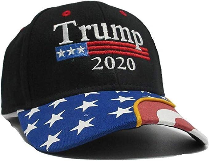 Superious Trump Hat 2020 Gorra Negra Bandera de Estados Unidos ...
