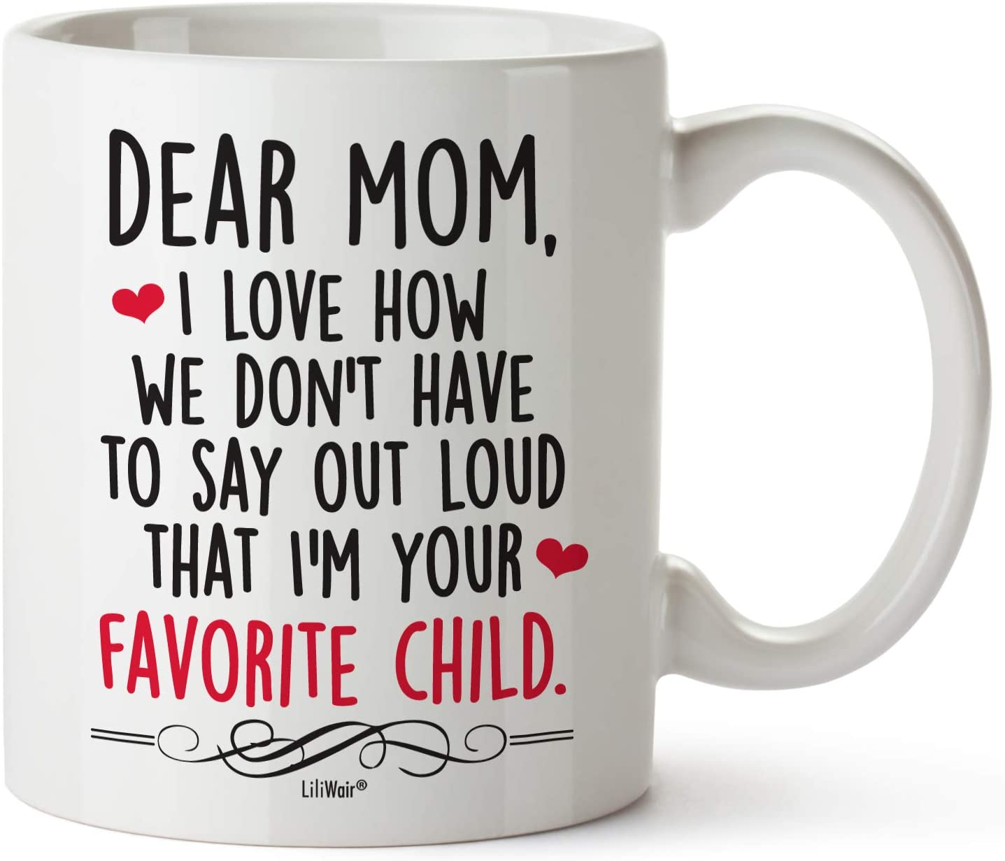 Mothers Day Gifts For Mom Gift Funny Birthday Coffee Cup Mugs From Daughter Son Mother's Day Mug Presents in Law Step Moms Finest Unique Sarcastic Present Ideas Stepmom Aunt Wife Tea Cups