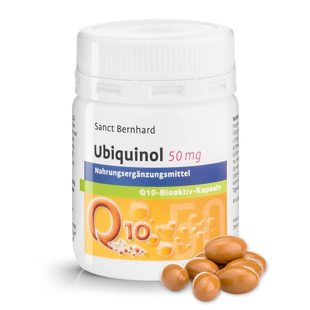 Q10 ubiquinol 50 mg Q10 bioaktiv Cápsulas 60 Cápsulas: Amazon.es: Salud y cuidado personal