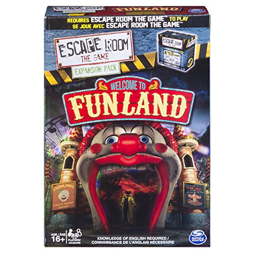 Spin Master Games - Escape Room the Game Welcome to Funland