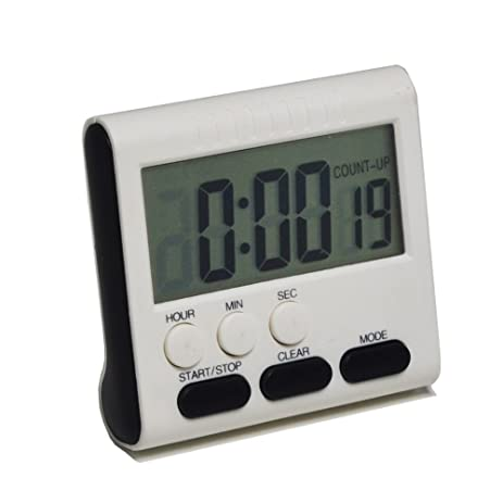 Gigibon Digital Kitchen Timer, Magnetic Countup/Countdown Timer Clock, With  Loud Alarm U0026