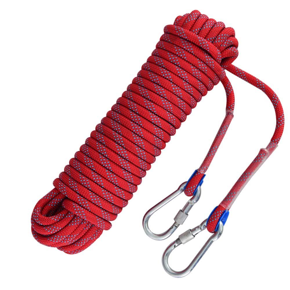 YYBT YYBT YYBT Rock Climbing Rope Escape Safety Rope 20m 30m 50m Mutil-use Home Rope Fire Wear-resistente Outdoor Professional Climbing Equipment Nylon,schwarz,10mm 30m B07NVHTP1Y Einfachseile Komfortabel und natürlich b64bc8