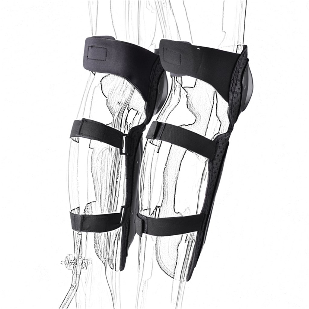 Baoblaze 4pcs Antislip Protective Elbow Knee Pads Guard for Skating Mountain Biking