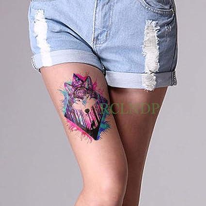 tzxdbh 5Pcs-Etiqueta engomada del Tatuaje a Prueba de Agua Chica ...