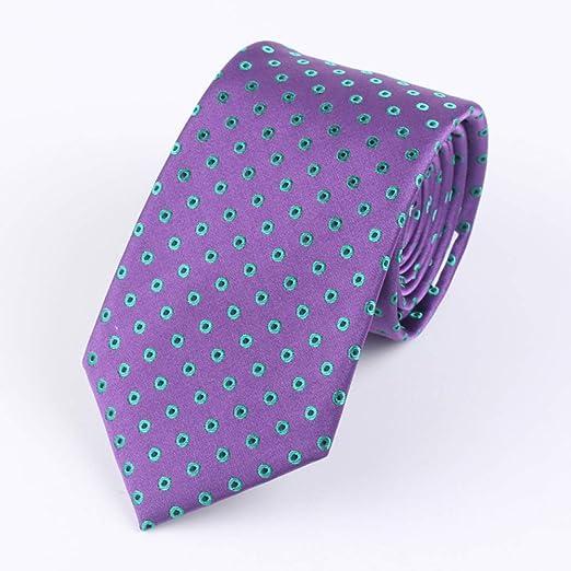 Lywljg Punto de Empate Tie Hombres Corbata Negocios ate 145 * 7cm ...